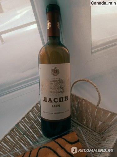 Вино красное полусладкое Крымский Ласпи фото