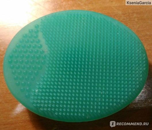 Щеточки силиконовые Tinydeal Silicone Oval Blackhead Remover Facial Cleansing Pad Manual Exfoliating Tool Massage Face Care Item фото