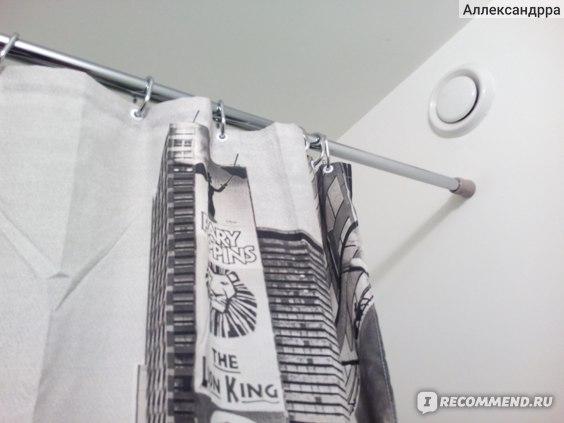 штора для ванной нью йорк