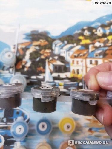 Schreiber,  Набор для раскрашивания по номерам ГАВАНЬ, 30*40см, 1 дизайн в ассортименте, 15 штук в коробке, арт. S 542   фото