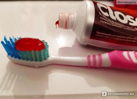 Зубная паста Closeup Жаркая мята фото