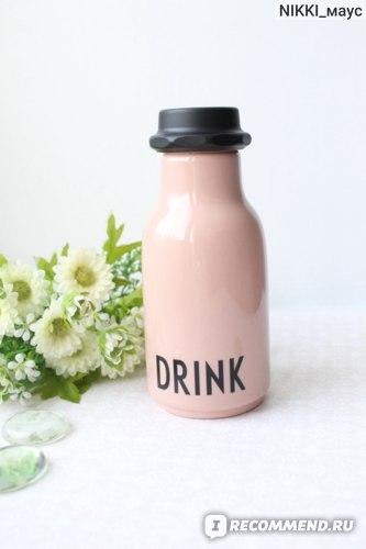 Бутылка для воды Design Letters