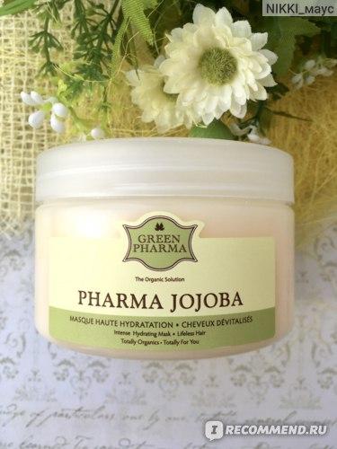 Маска для волос Green Pharma ФармаЖожоба