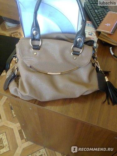 Сумка Aliexpress WEIDIPOLO GENUINE LEATHER+ microfibre restore ancient inclined big bag women tassel fine handbag фото
