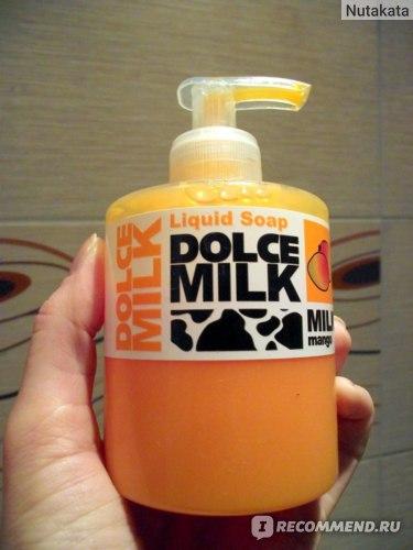 Жидкое мыло Dolce milk Молоко и Манго фото