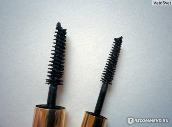 Sumptuous Extreme слева, Double Wear Mascara справа
