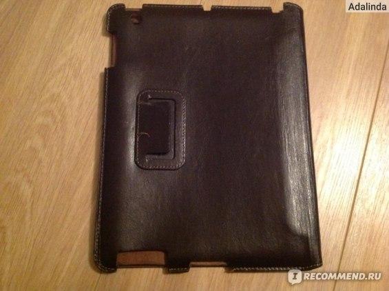 Чехол для планшета Denn Кожзам, коричневый фото