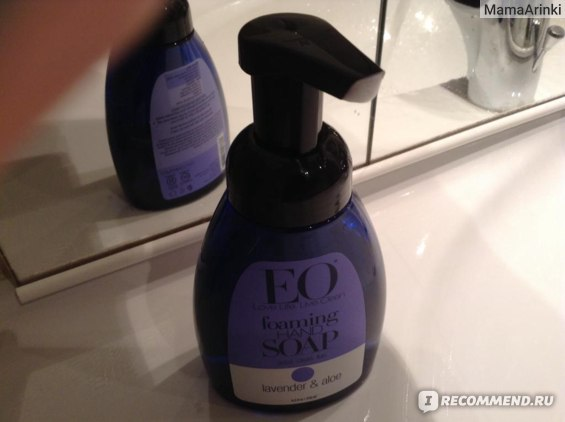 Жидкое мыло EO products Foaming Hand Soap, Lavender & Aloe фото