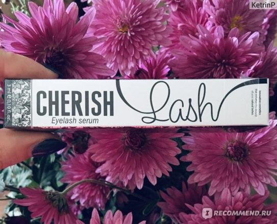 Средство для роста и укрепления ресниц Cherisher Cherish Lash фото