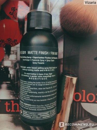 Спрей для фиксации макияжа NYX Matte Finish Long Lasting Setting Spray фото