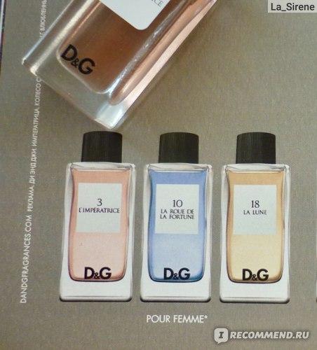 Dolce & Gabbana 3 L'Imperatrice фото
