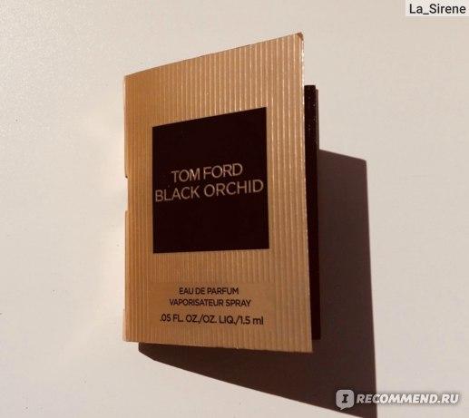 Аромат том форд черная орхидея