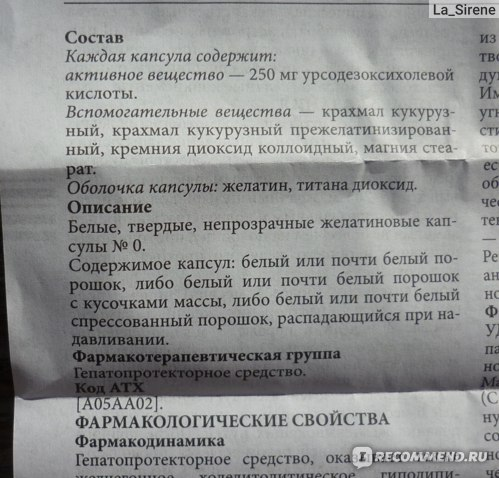 Желчегонные средства Pro.Med.CS Praha Урсосан фото