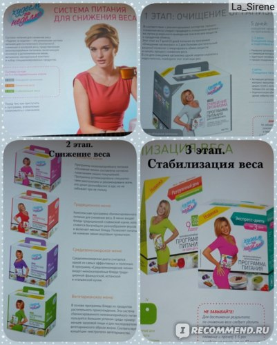 Программа Похудения По Бородиной. Диета Ксении Бородиной: «Никаких разгрузочных дней, никакого голодания!»