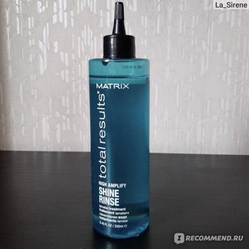 Ламеллярная вода для волос