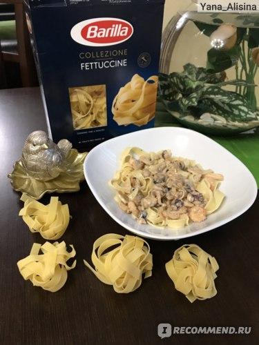 Макаронные изделия  BARILLA Fettuccine Toscane (Феттуччине) фото