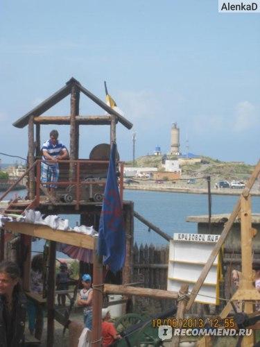 Морская крепость в Анапе фото