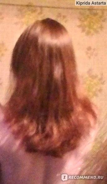 Только из парикмахерской. И кончики подравняли и длину одну сделали, блин :/