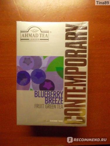 Чай зеленый AHMAD Tea Contemporary Blueberry Breeze фото