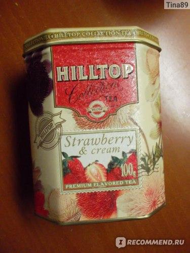 Чай  Hilltop Земляника со сливками фото
