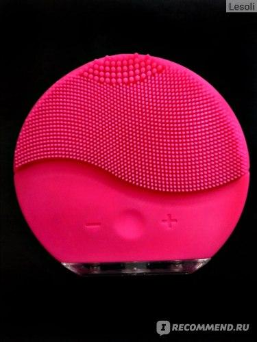 Прибор для ухода за лицом Aliexpress Waterproof mini 2 Silicone Facial Cleansing Brush Silicone Deep Pore Cleaning Electric waterproof Massage фото