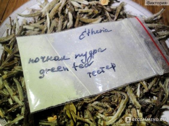 Минеральная пудра Etheria Ночная лечебная фото