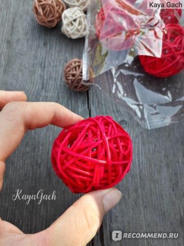 Декоративные шары для интерьера