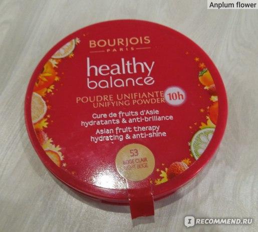 Пудра компактная Bourjois Healthy Balance  фото