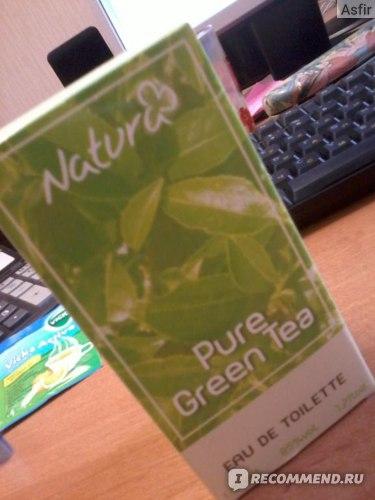 """ЗАО """"Аптеки 36,6"""" Туалетная вода """"Pure Green Tea"""" фото"""