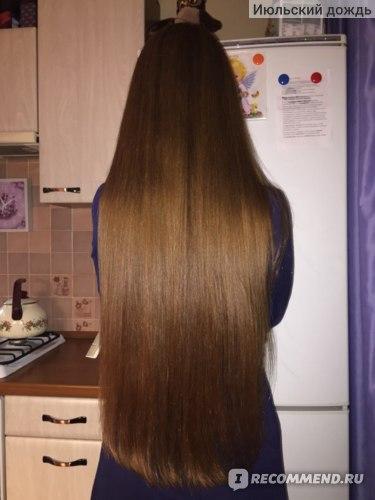 На фото волосы помыты Редкеном, высушены феном с ТЗ Редкен