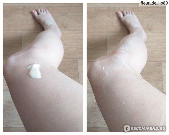 В процессе использования молочка для тела