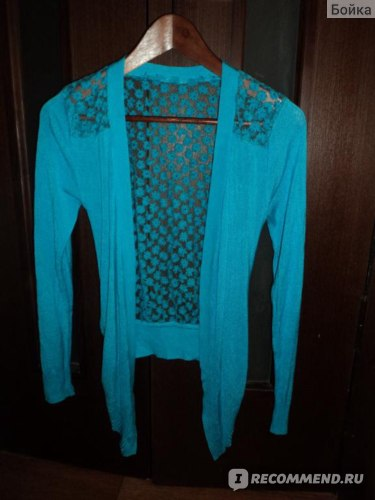 Кардиган AliExpress Lace Sweet Candy Color Crochet Knit Blouse Sweater Cardigan фото