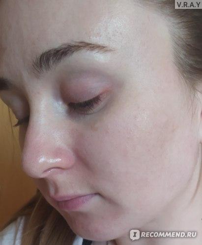 Фото сразу после умывания бальзамом