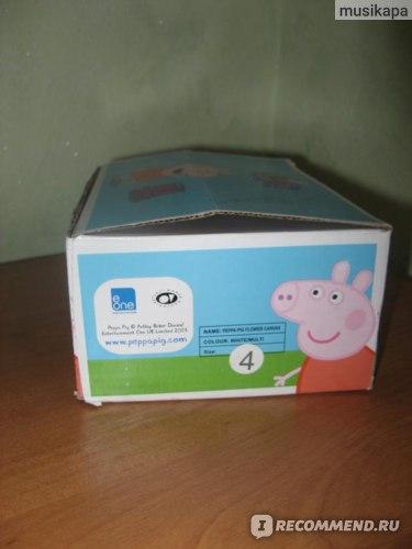 Мокасины Peppa Pig фото