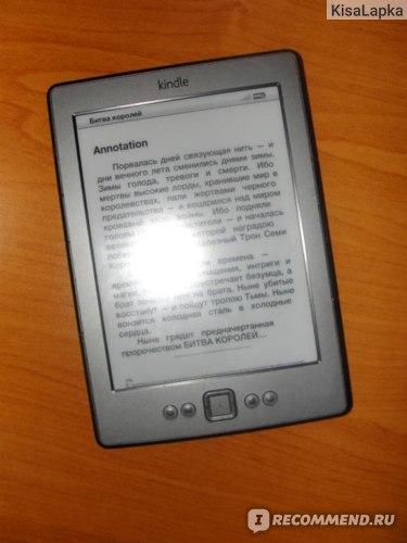 Электронная книга Amazon  Kindle 4 Wi-Fi фото