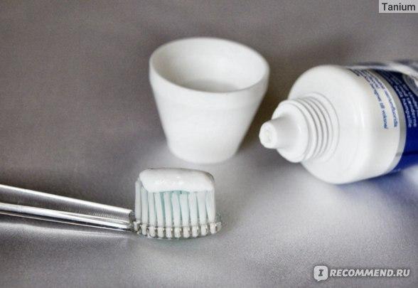 Зубная паста Denivit (Денивит) против пятен, отбеливающая фото