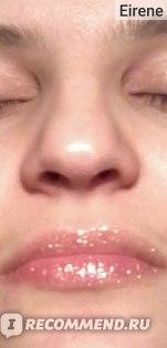 Блеск на губах