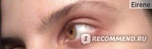 Ненакрашенный глаз