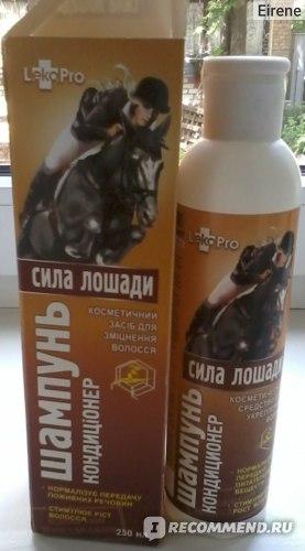 Шампунь-кондиционер LekoPro Сила лошади фото