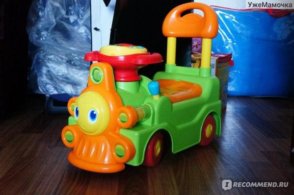 Chicco Поезд-каталка фото