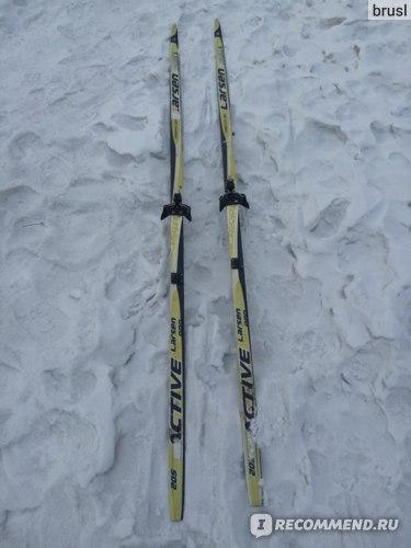 Лыжи Larsen Active Profile 3D фото
