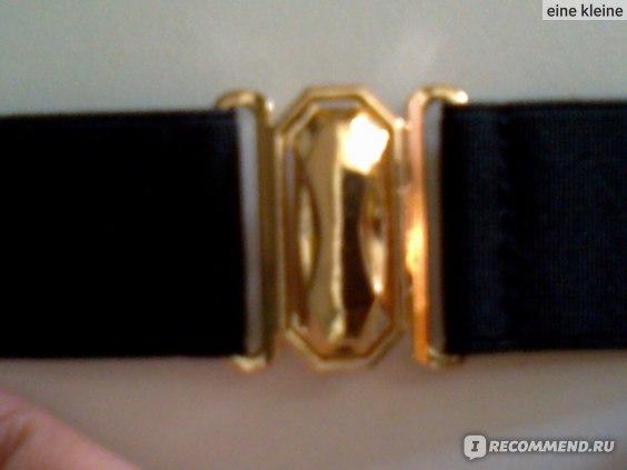 Пояс Aliexpress Elastic Belt Metal Mirror Metal Bling Gold Plate Wide Obi group for women Women's Accessories Women's Dress Belt QW185 фото