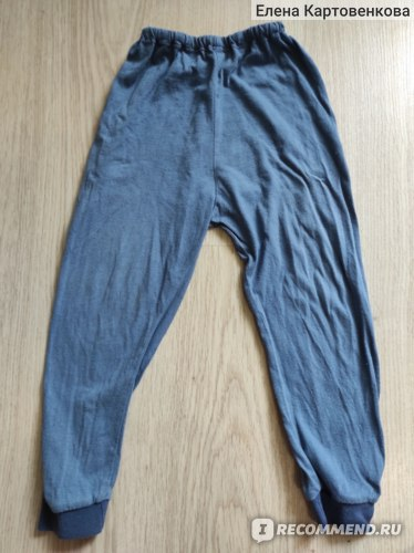 В целом приличный вид штанов