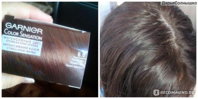 даже на мокром волосе видно что цвет соответствует