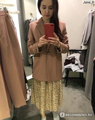 пиджак и платье из шоу-рума (не купили)