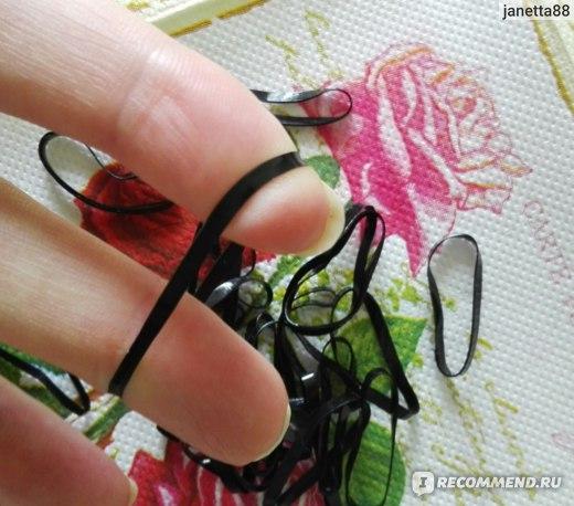 Резинка для волос Aliexpress 300pcs/pack Rubber Rope Ponytail Holder Elastic Hair Bands Ties Braids Plaits hair clip headband Hair Accessories фото
