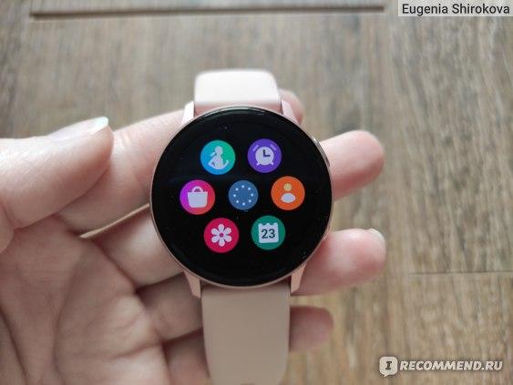 Умные часы Samsung Galaxy Watch Active 2 фото
