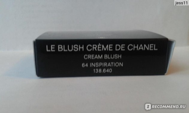 Кремовые румяна Chanel Le Blush Creme De фото