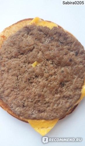 Фастфуд McDonald's / Макдоналдс Чизбургер фото