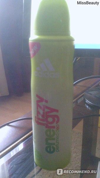 Дезодорант Adidas fizzy energy фото